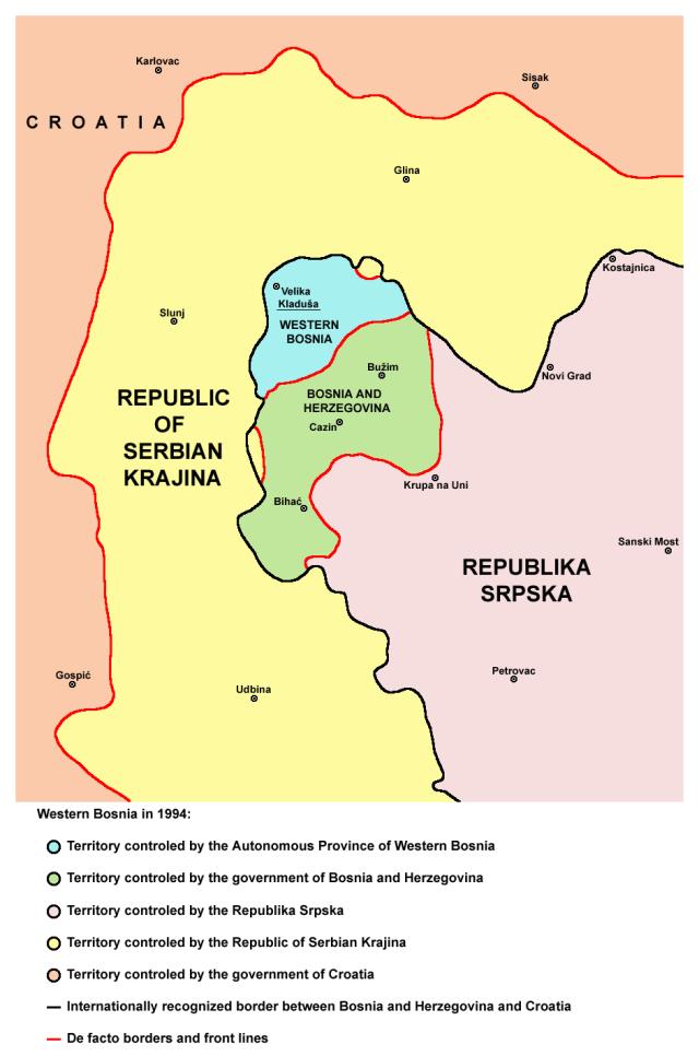 Zachodnia Bośnia w 1994 roku
